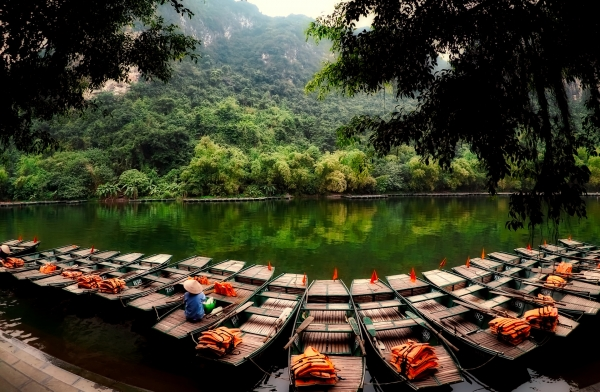 vietnam-boats-life-jackets-forest